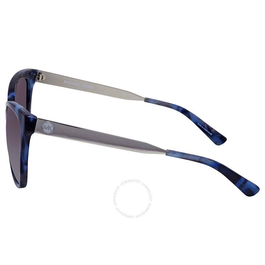 5fc208dd819e8 Michael Kors Napa Grey Gradient Square Sunglasses MK2058 331011 55 ...
