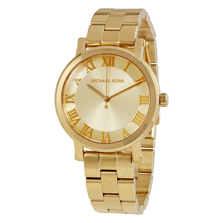 Michael Kors Norie Ladies Gold Tone Watch MK3560 - Michael ...