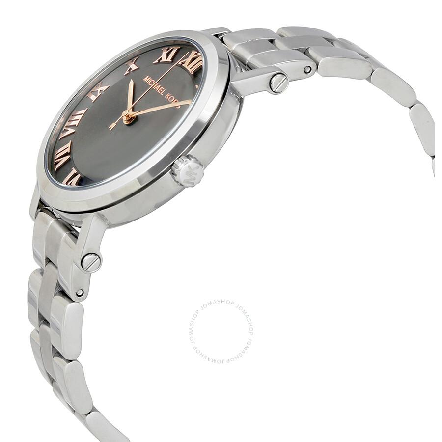 1a235ee2b92 Michael Kors Norie Grey Dial Ladies Watch MK3559 - Michael Kors ...