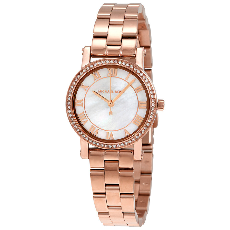 f8ff97acc6bf Michael Kors Norie Mother of Pearl Dial Laides Watch MK3558 - Norie ...