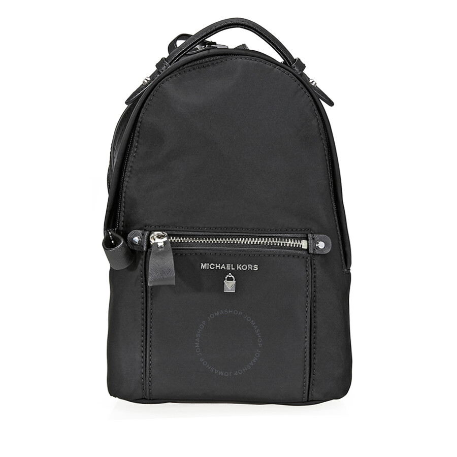 5c6687bd2d02 Michael Kors Nylon Backpack- Black - Michael Kors Handbags ...