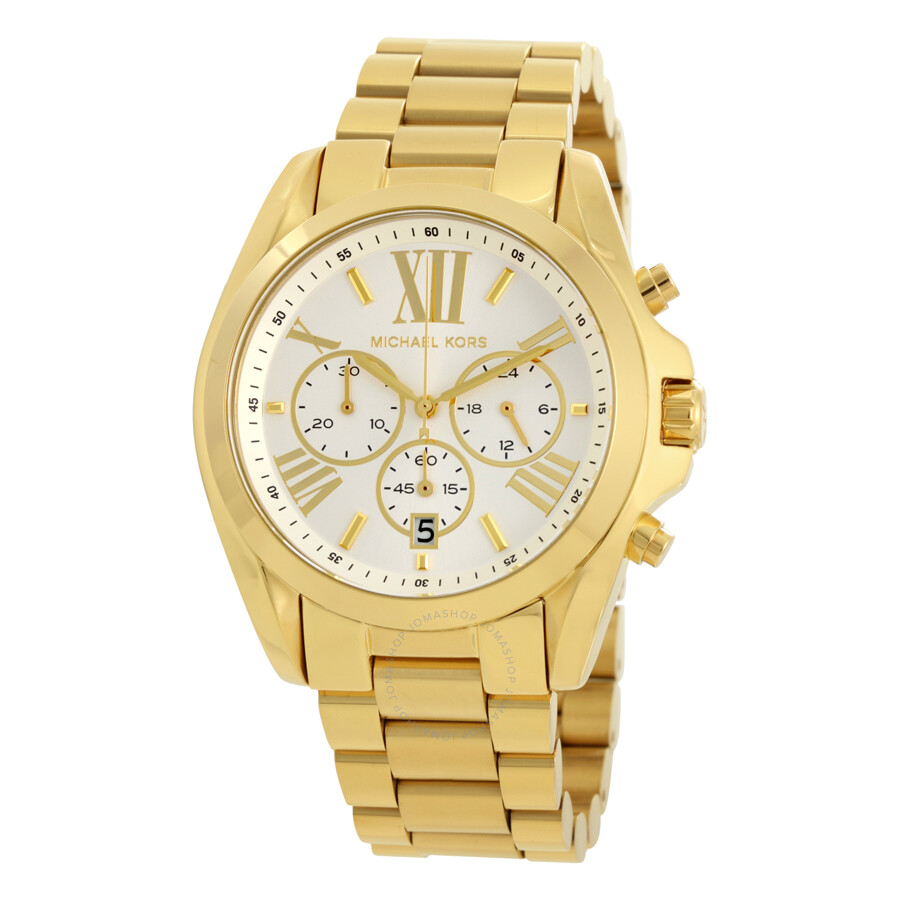 Michael kors oversize bradshaw chronograph unsiex watch mk6266 bradshaw michael kors for Watches michael kors