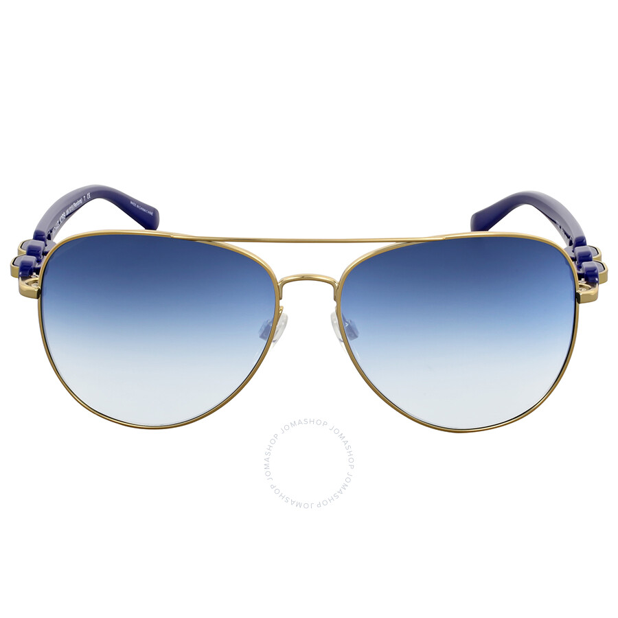 2574d09c462 Michael Kors Pandora Blue Gradient Aviator Sunglasses Item No.  MK1015-11324L-58