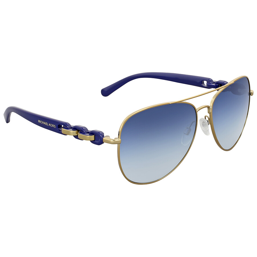 debf272b61a Michael Kors Pandora Blue Gradient Aviator Sunglasses Michael Kors Pandora  Blue Gradient Aviator Sunglasses ...
