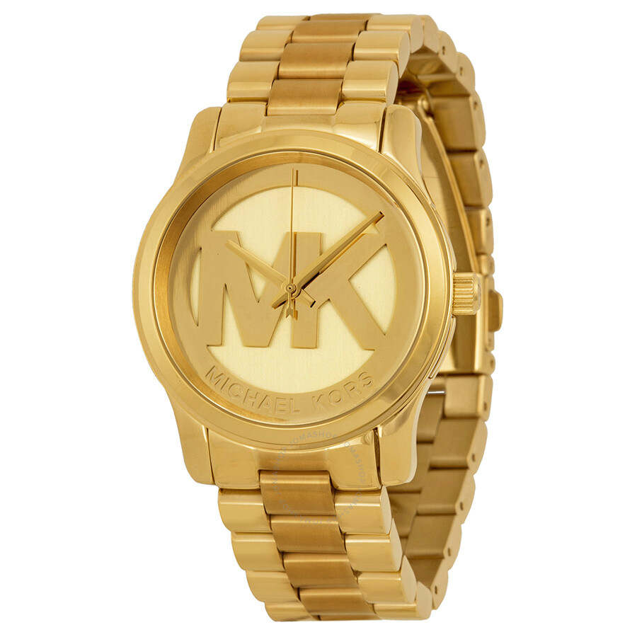 Details about Michael Kors MK5786 Parker Champagne Dial Gold-tone Ladies  Watch 3ac1904420