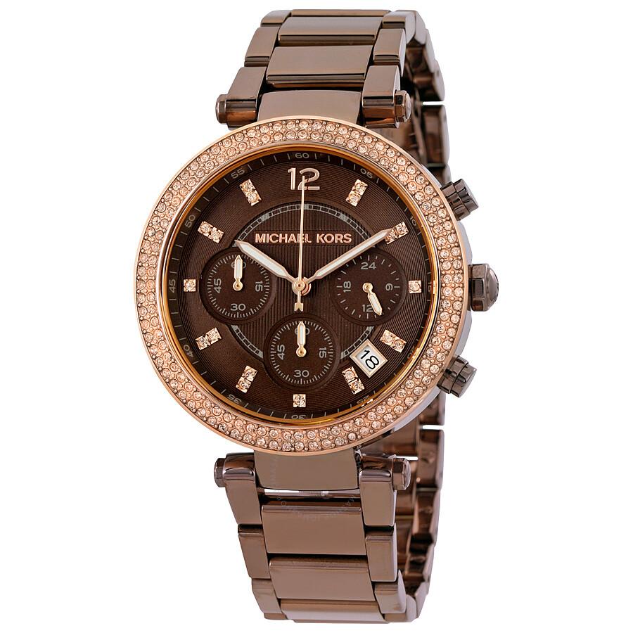 6c8e160a3b6 Michael Kors Parker Chronograph Ladies Watch MK6378 - Parker ...