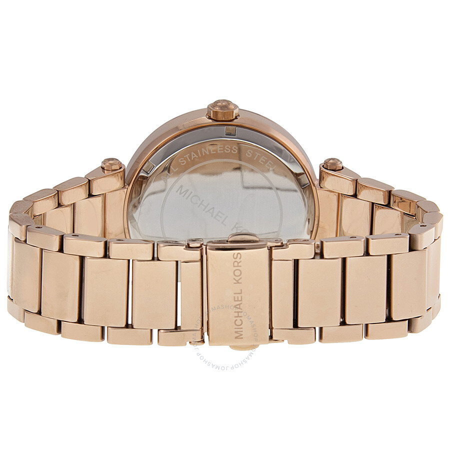 Michael Kors Parker Dial Rose Goldtone Ladies Watch MK5865 Parker