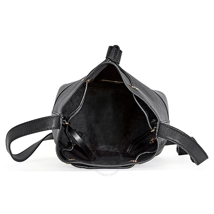 Michael Kors Pebbled Leather Crossbody Bag Black