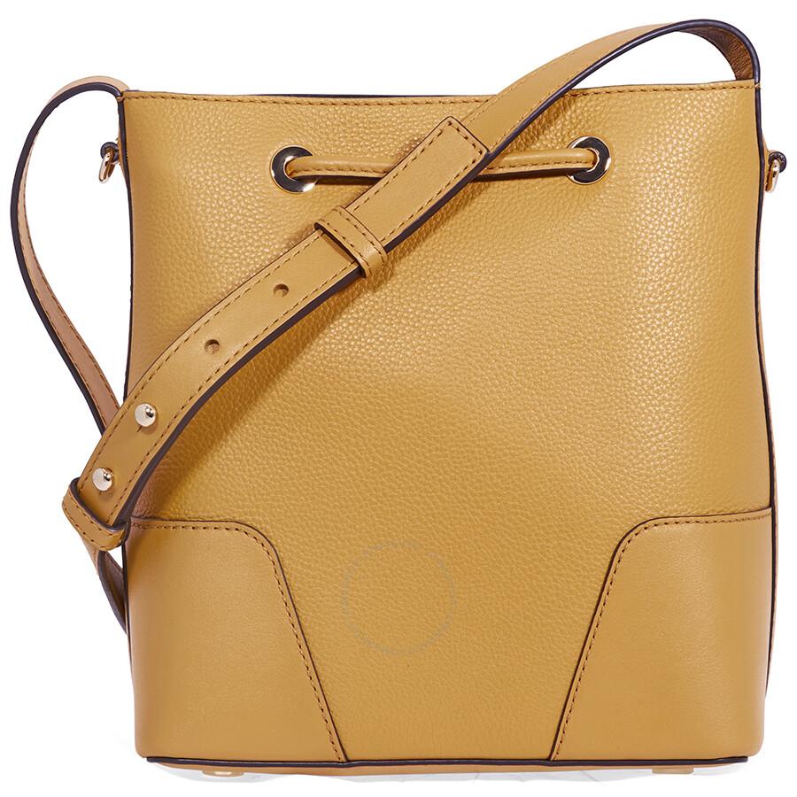 6cda73e51b19d5 Michael Kors Pebbled Leather Crossbody Bag- Marigold - Michael Kors ...
