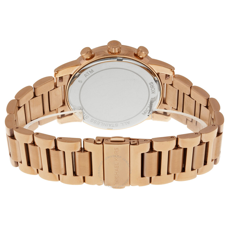 94373abc290b9 ... Michael Kors Pennant Chronograph Grey Dial Rose Gold Ion-plated Men s  Watch MK8370 ...
