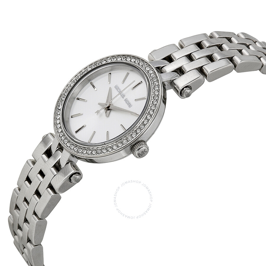 a5034f8af6ed Michael Kors Petite Darci Silver Dial Ladies Watch MK3294 - Darci ...