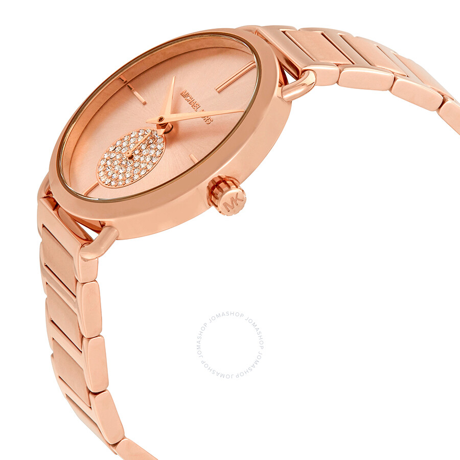 Michael Kors Portia Rose Gold-tone Ladies Watch MK3640 - Michael ... 7bb2c3470246