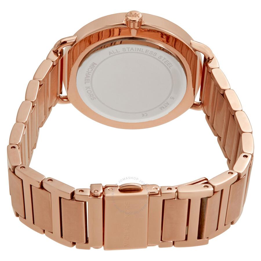 6d129c6d6a10 Michael Kors Portia Rose Gold-tone Ladies Watch MK3640 - Michael ...