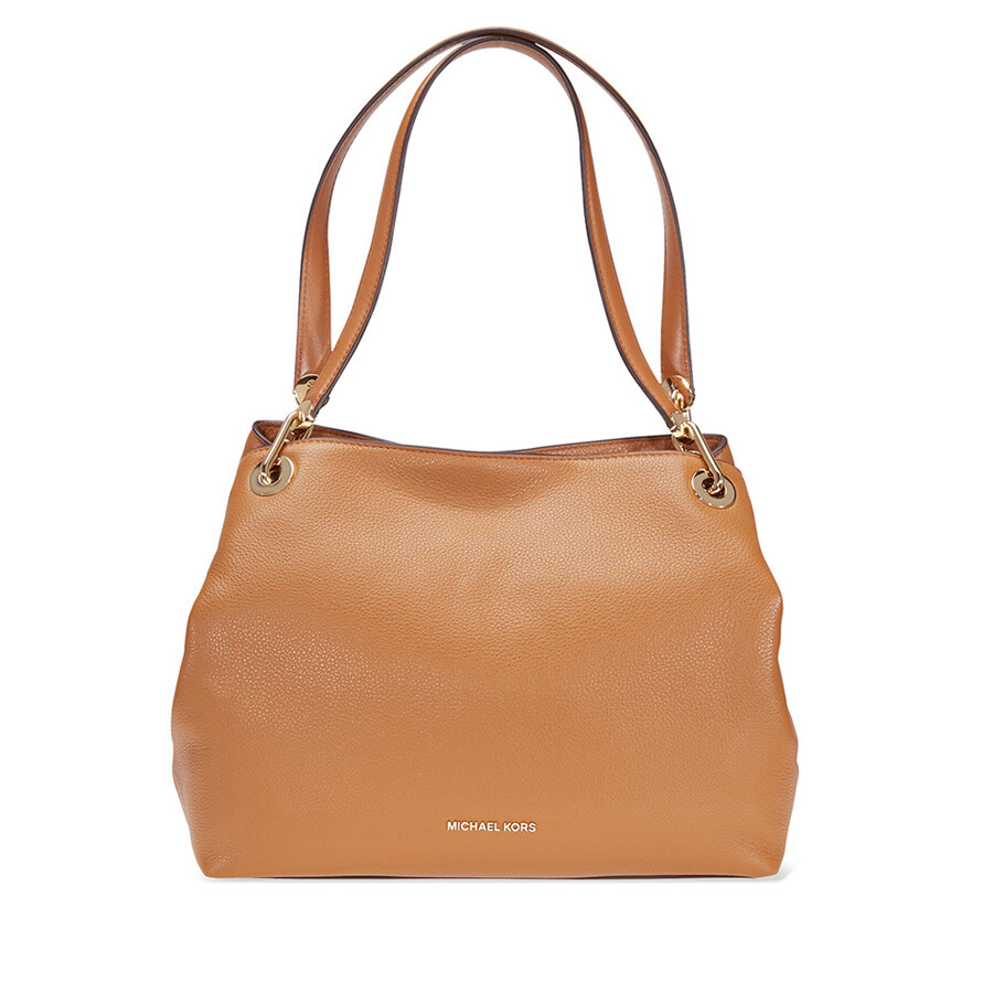 Michael Kors Raven Large Leather Shoulder Bag - Acorn Item No.  30H6GRXE3L-532 ca024534ca5ad