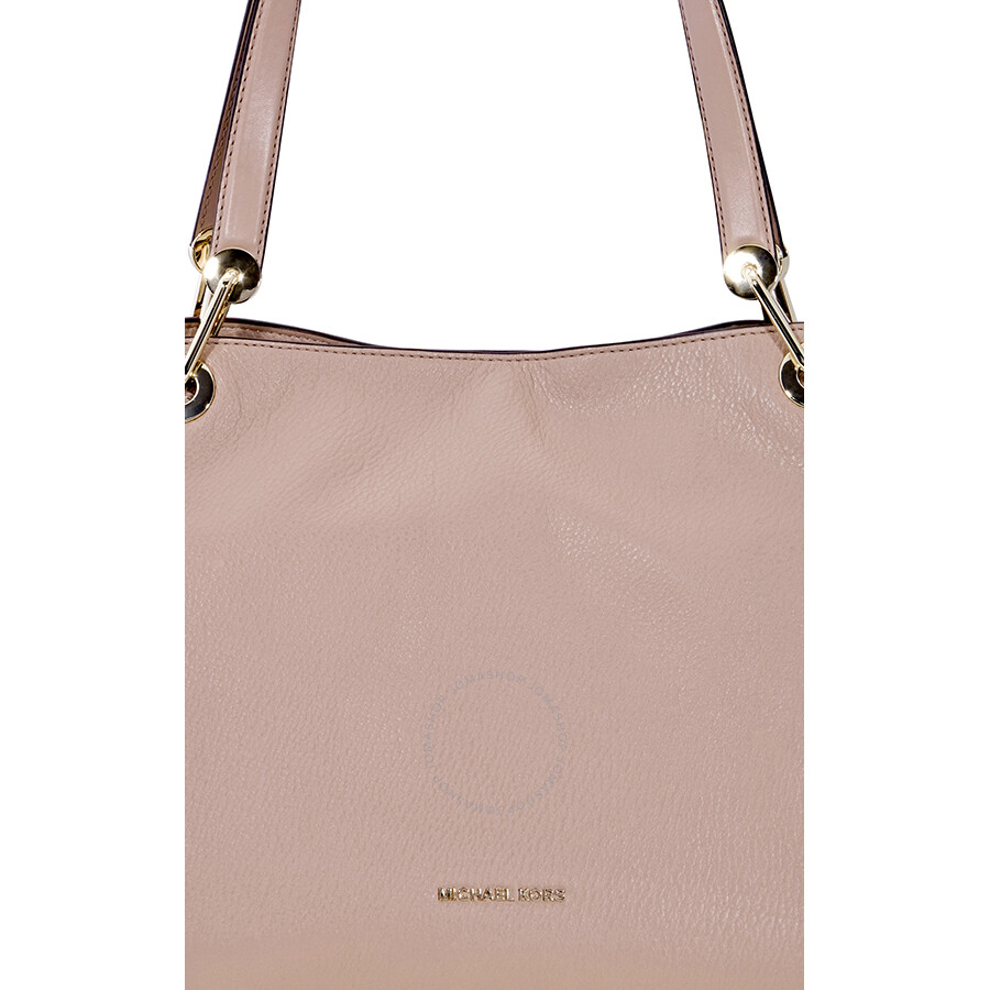 293c67ffe1c3 Michael Kors Raven Large Leather Shoulder Bag - Fawn Item No. 30T8TRXE3L-133