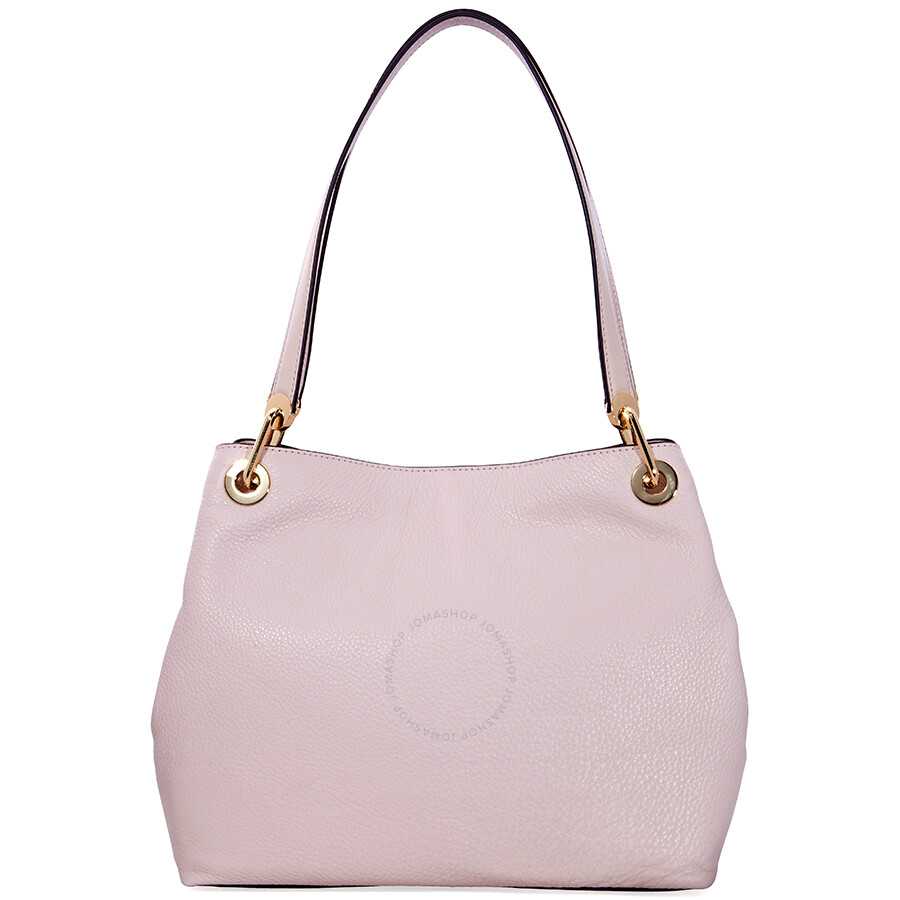 569627a4d872d6 Michael Michael Kors Raven Large Leather Shoulder Bag Soft Pink ...