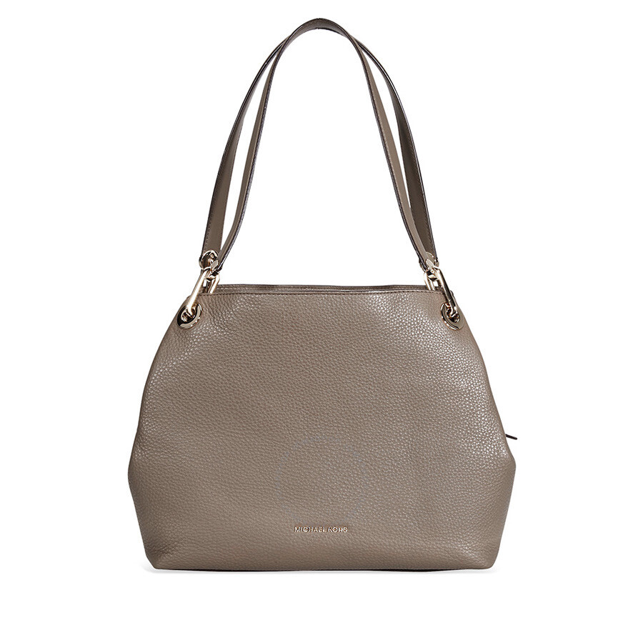 Michael Kors Raven Large Leather Shoulder Bag Mushroom