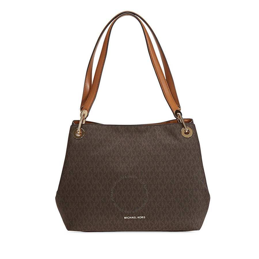 Michael Kors Raven Signature Tote Brown
