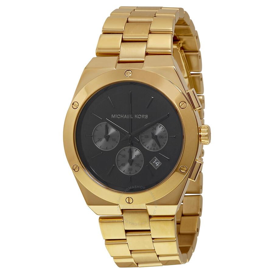 4ecf210d1993 Michael Kors Reagan Black Dial Quartz Ladies Watch MK6078 - Reagan ...