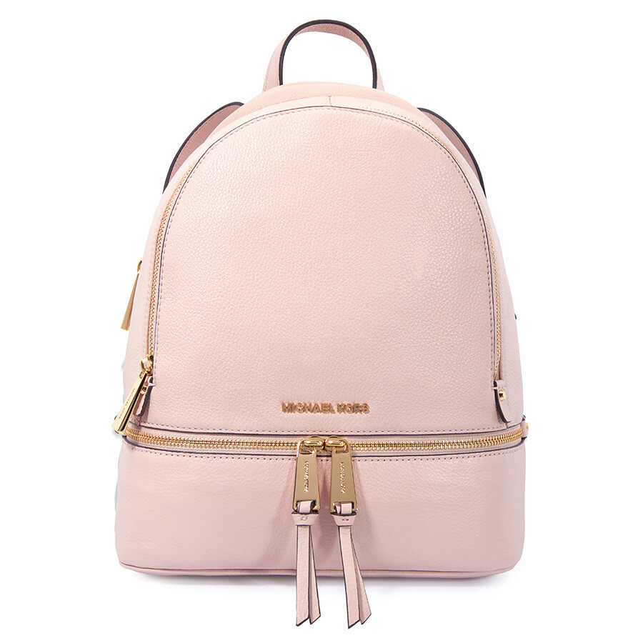 38920060a988 Michael Kors Rhea Medium Leather Backpack - Soft Pink Item No.  30S5GEZB1L-187