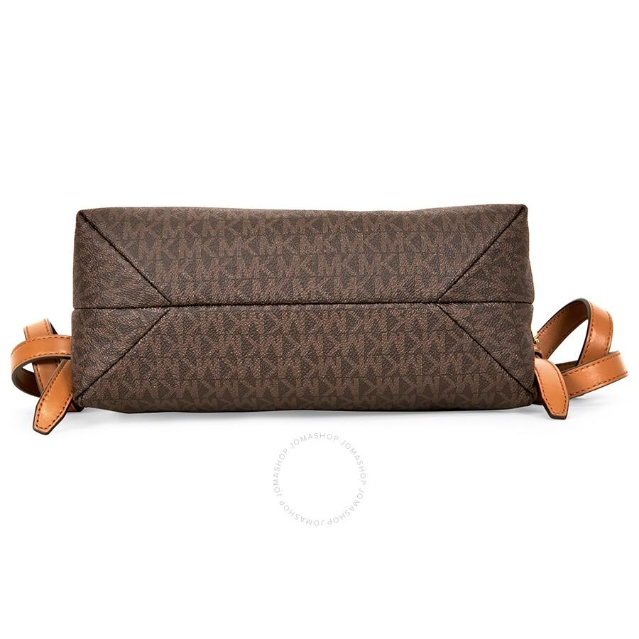 a8f1ded75ce7 Michael Kors Rhea Medium Slim Backpack - Brown - Rhea - Michael Kors ...
