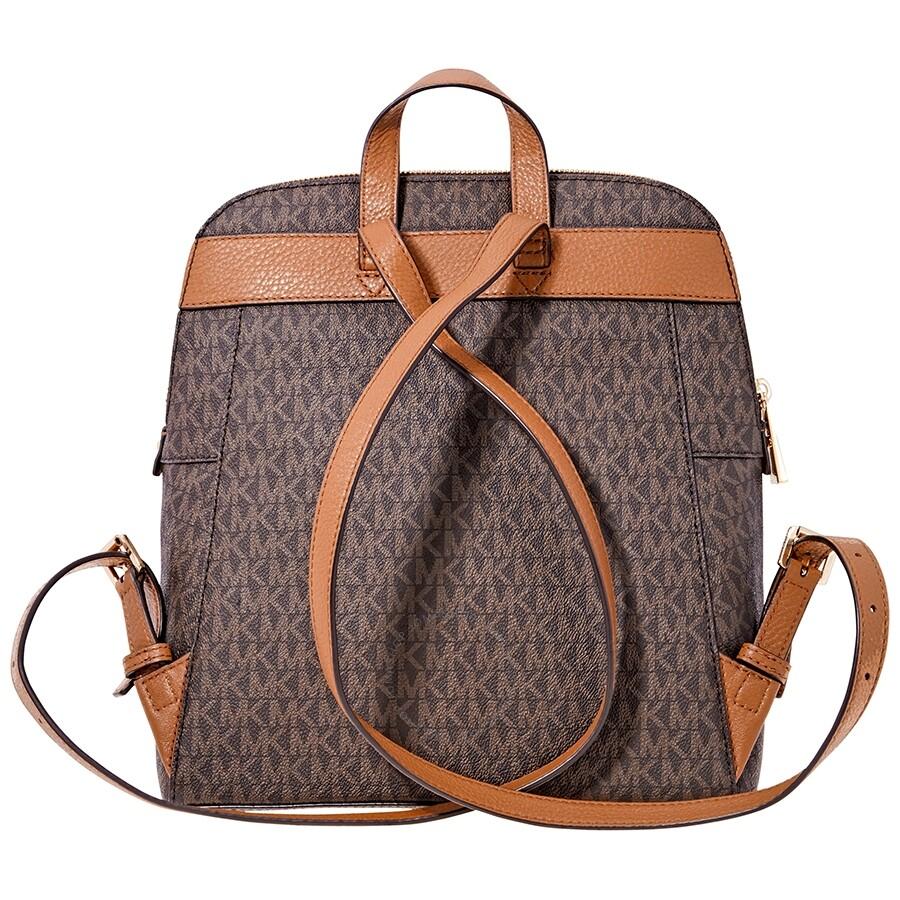 michael kors rhea medium slim backpack brown rhea michael kors handbags handbags jomashop. Black Bedroom Furniture Sets. Home Design Ideas