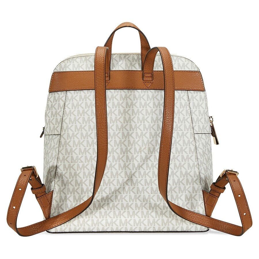 50383baefda3 Michael Kors Rhea Medium Slim Backpack - Vanilla - Rhea - Michael ...