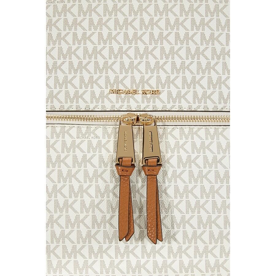 809d52d57140 Michael Kors Rhea Medium Slim Backpack - Vanilla - Rhea - Michael ...
