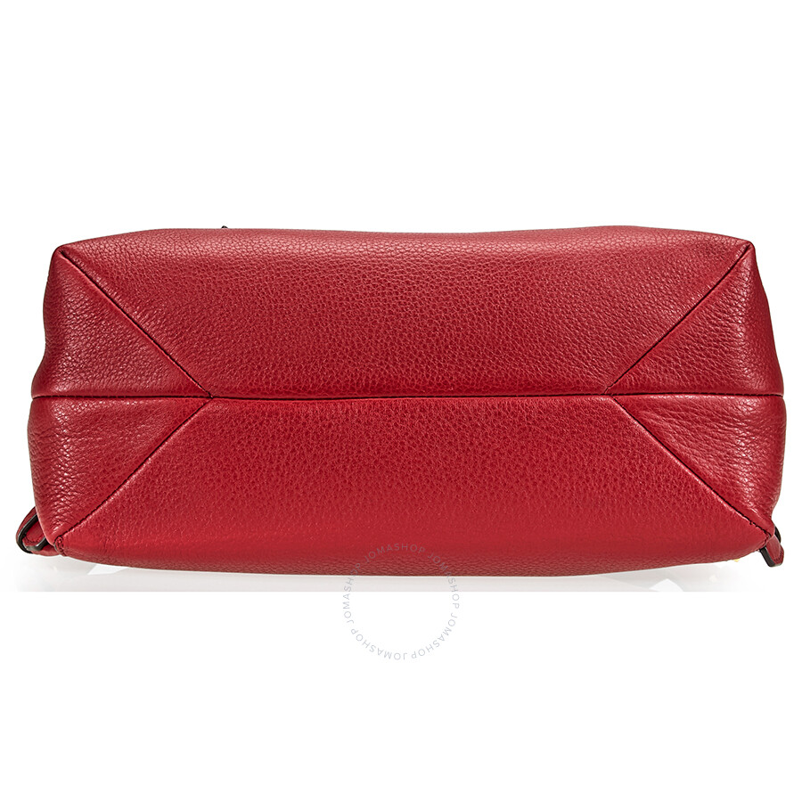 6c7c351cd280 Michael Kors Rhea Medium Slim Leather Backpack- Maroon - Rhea ...