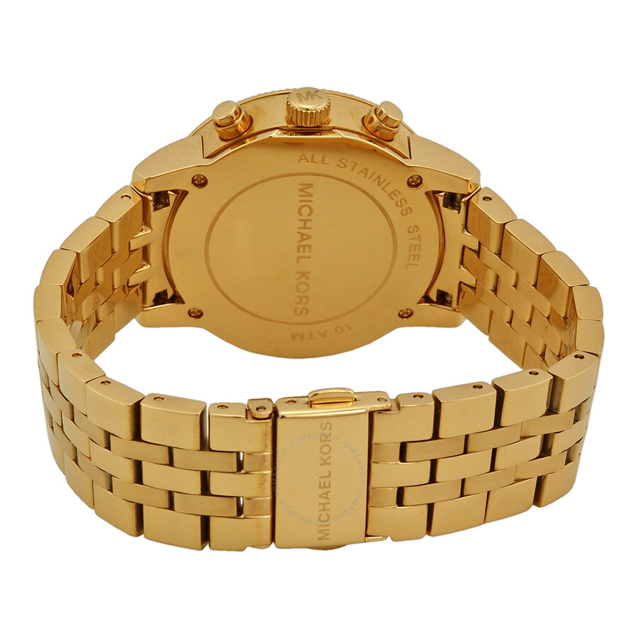 cc5b5f3394cd Michael Kors Ritz Chronograph Gold-Tone Ladies Watch MK5676 - Ritz ...
