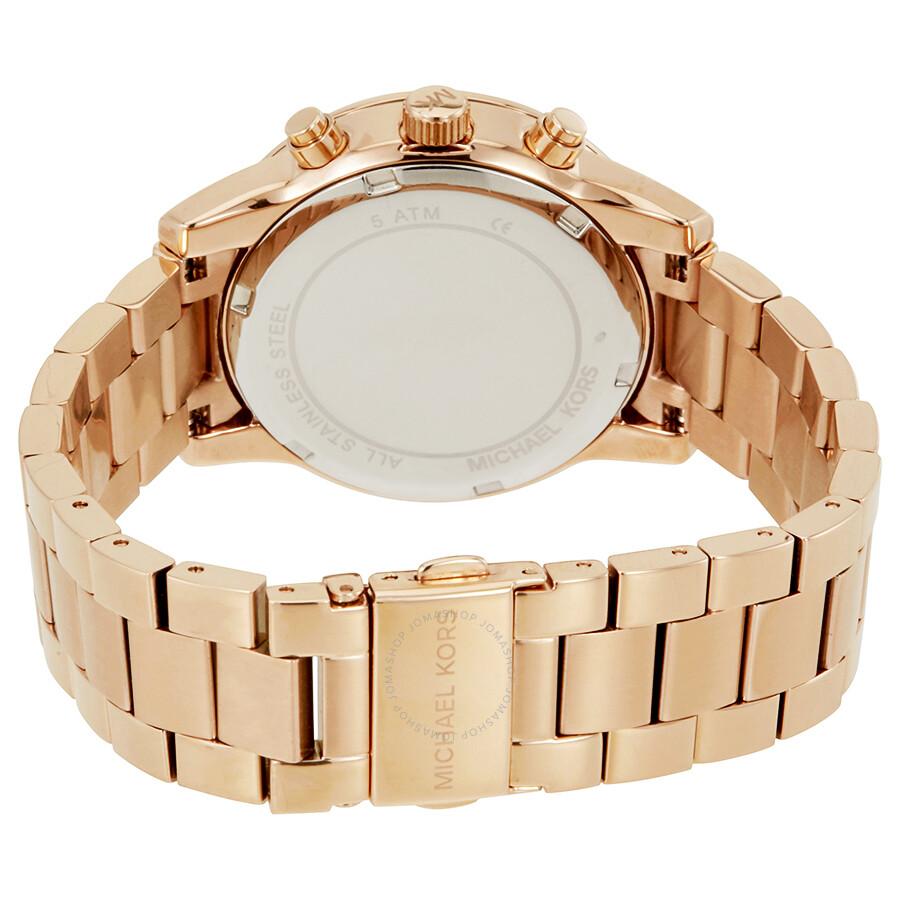 bdf2a1041a2 Michael Kors Ritz Rose Dial Ladies Watch MK6357 - Ritz - Michael ...