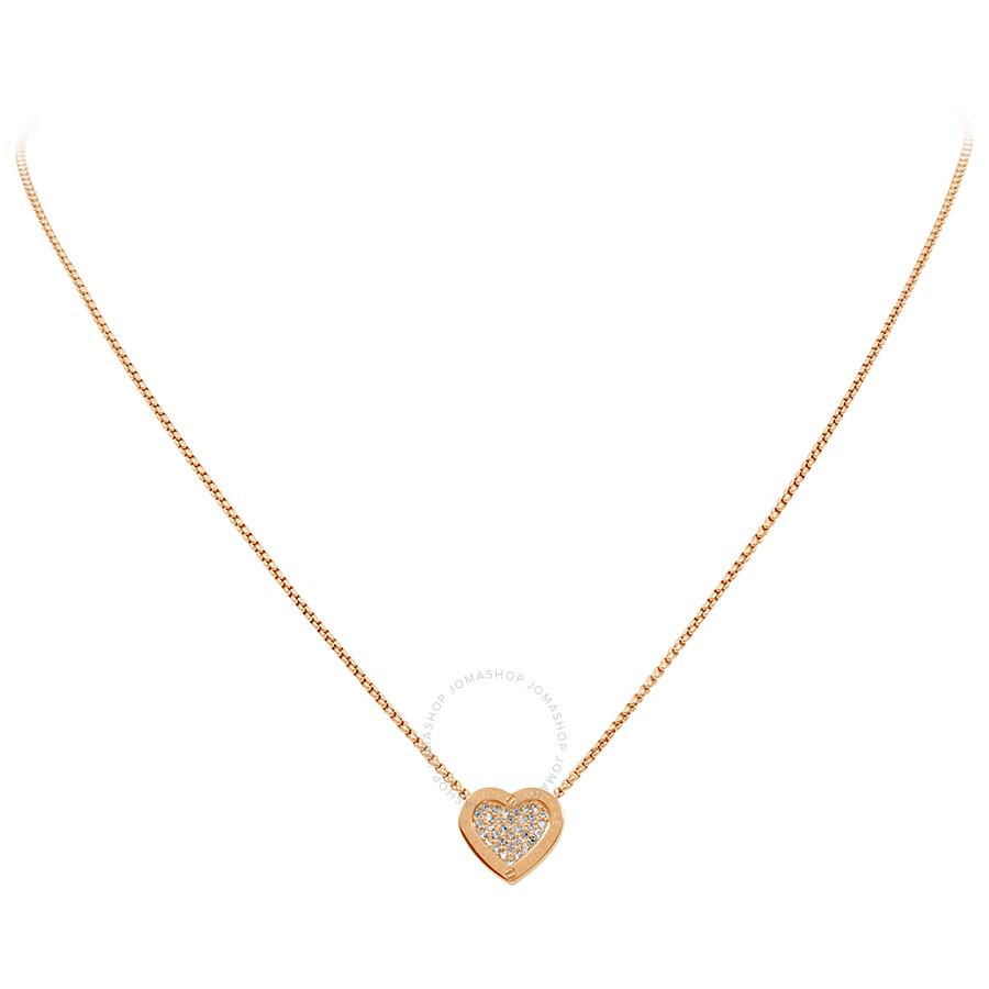 cc8ca81b68c8 Michael Kors Rose Gold-tone Brilliance Necklace MKJ4144791 - Michael ...