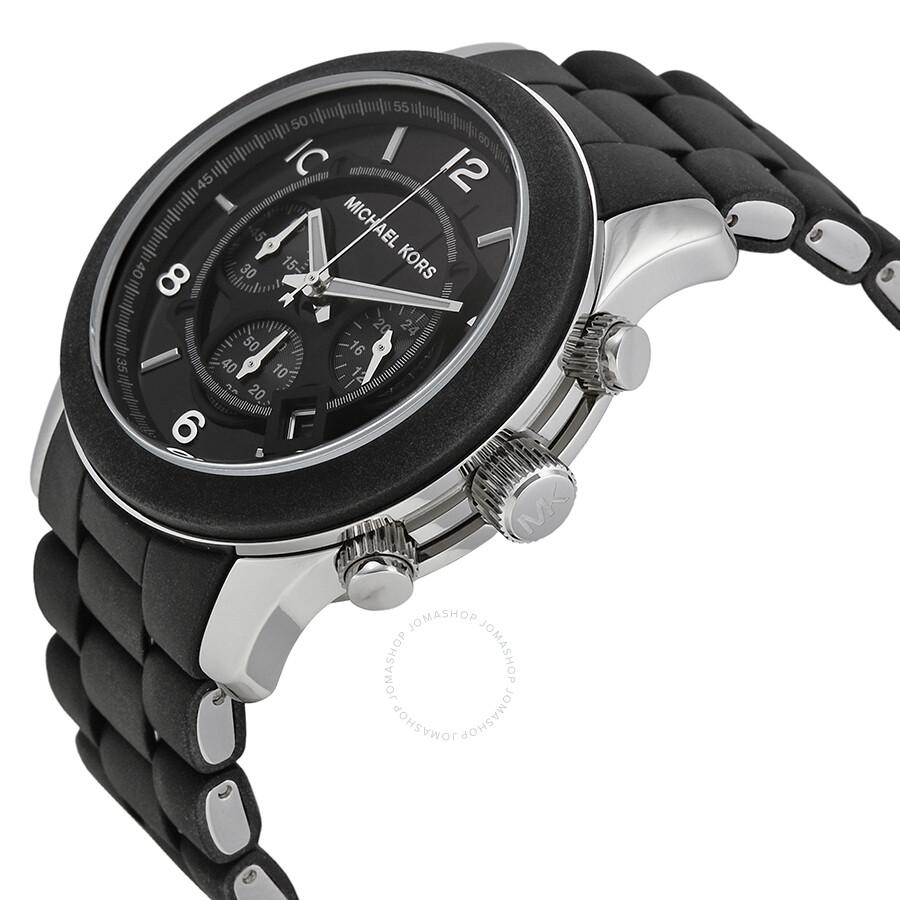 Michael Kors Runway Chronograph Unisex Watch MK8107 Michael Kors Runway  Chronograph Unisex Watch MK8107 ...