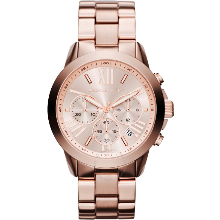 michael kors runway watches jomashop michael kors runway chronograph rose gold tone men s watch