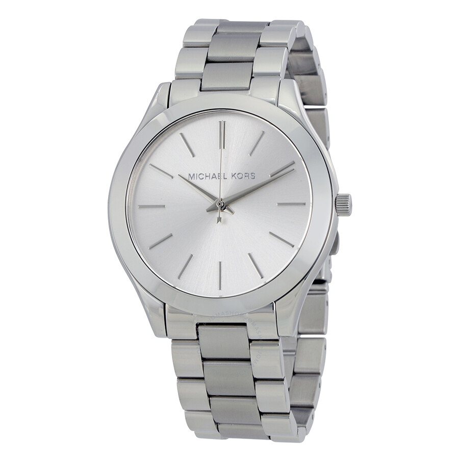 40a530c0e22d Michael Kors Runway Silver Dial Ladies Watch MK3178 - Runway ...