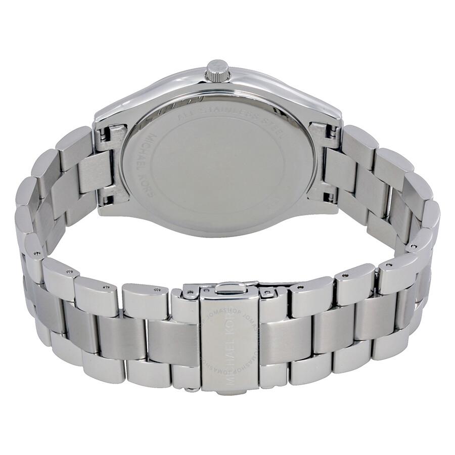 Michael Kors Runway Silver Dial Ladies Watch Mk3178 Runway