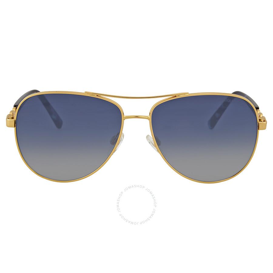 caab9a569982 Michael Kors Sabina III Blue Gradient Aviator Sunglasses Item No.  MK5014-10244L-59