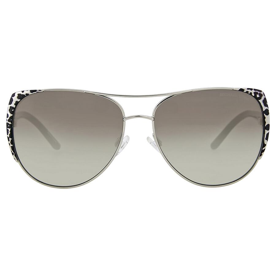 64cd24297372 Michael Kors Sadie 1 Leopard Print Metal Sunglasses Item No.  MK1005-105911-59