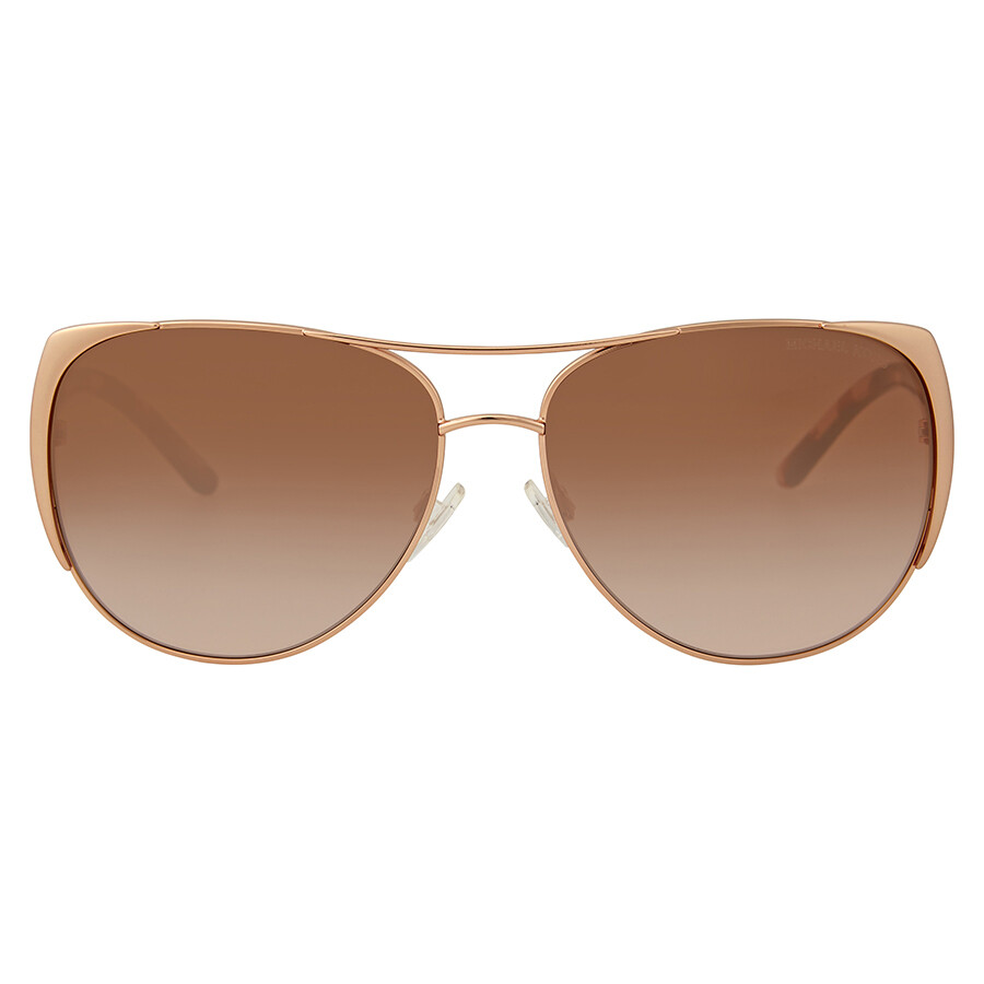 e641c806c8 Michael Kors Sadie I Brown Peach Cat Eye Sunglasses Item No.  MK1005-115513-59