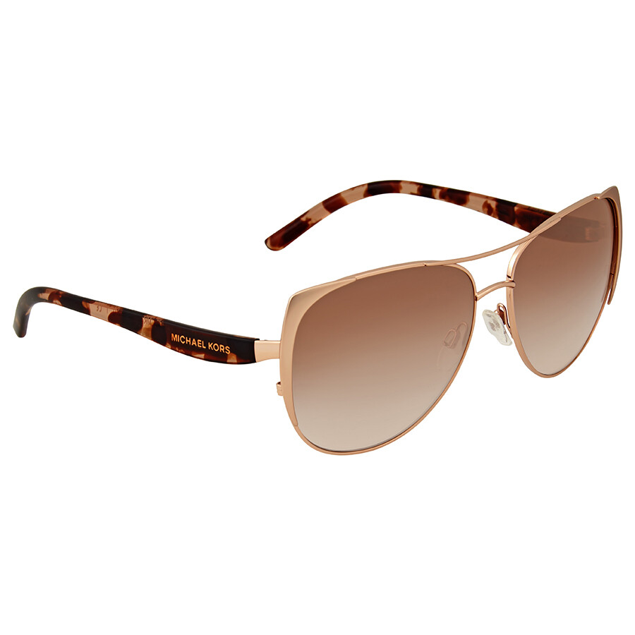 51cd290aed Michael Kors Sadie I Brown Peach Cat Eye Sunglasses - Michael Kors ...