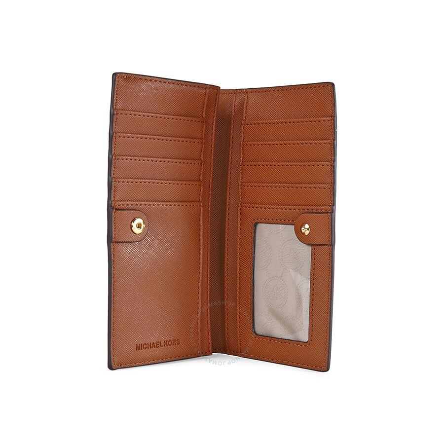 3aeb09b5b1bf Michael Kors Saffiano Leather Slim Wallet - Saffiano - Michael Kors ...