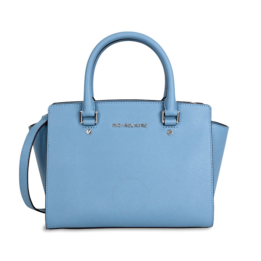 c374f107e3e33 michael kors selma medium saffiano leather satchel