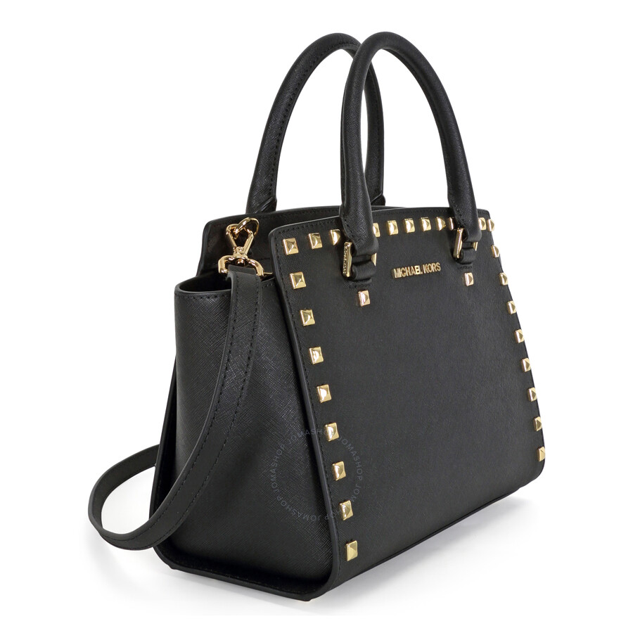 63353f347f1b Michael Kors Studded Saffiano Handbag | Stanford Center for ...