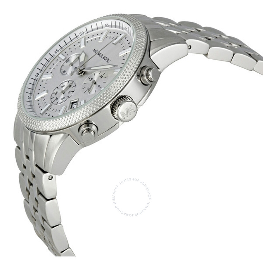 61ece915f5d2 Michael Kors Silver Scout Chronograph Men s Watch MK8072 - Scout ...