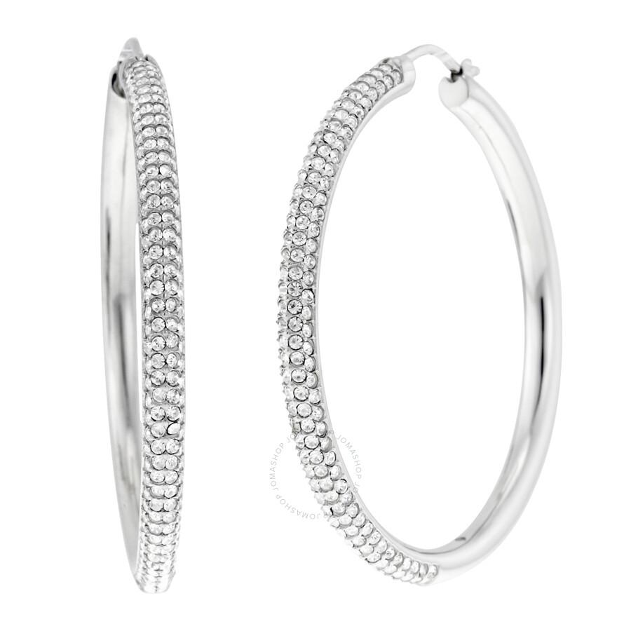 b8f6eca92 Michael Kors Hoop Earrings Silver - The Best Produck Of Earring