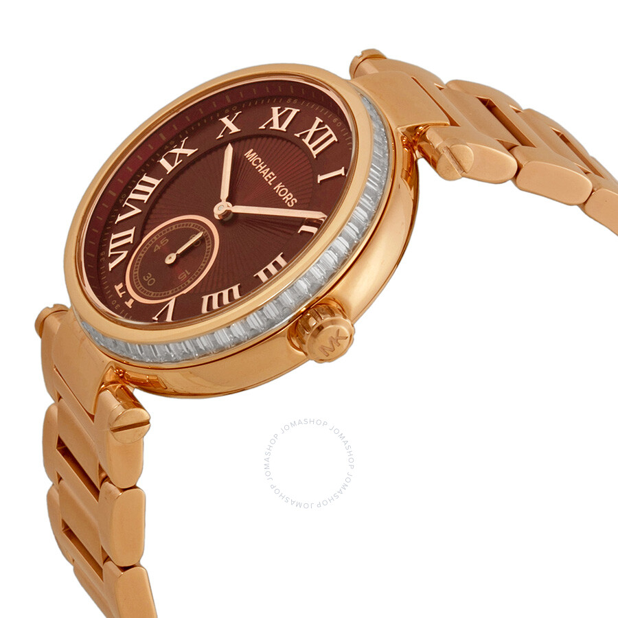 Rose gold watch michael kors price