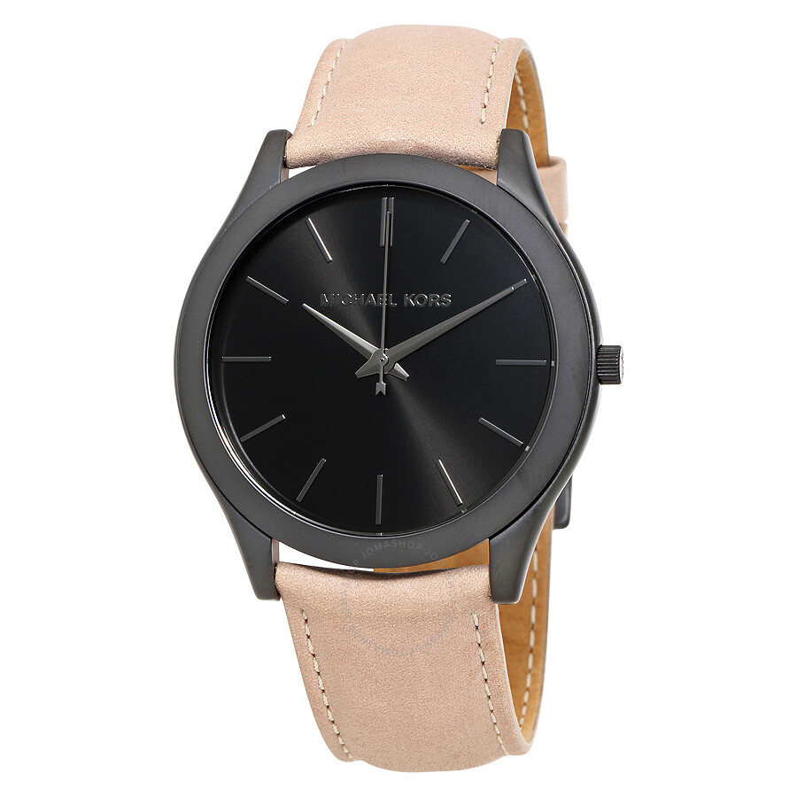 17e3f3f6e1f4 Michael Kors Slim Runway Black Dial Men s Casual Watch MK8510 - Slim ...