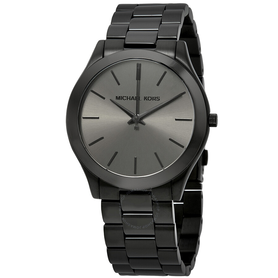 3dd208879 Michael Kors Slim Runway Black Dial Men's Watch MK8507 - Slim Runway ...