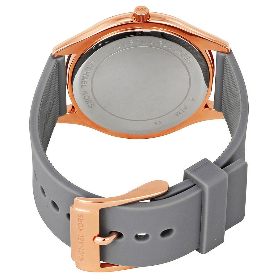 38a832f8257b Michael Kors Slim Runway Rose Dial Ladies Watch MK2512 - Slim Runway ...