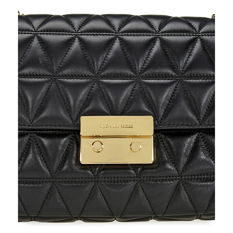 bd21656e27182b Michael Kors Sloan Extra Large Quilted Shoulder Bag- Black - Michael ...